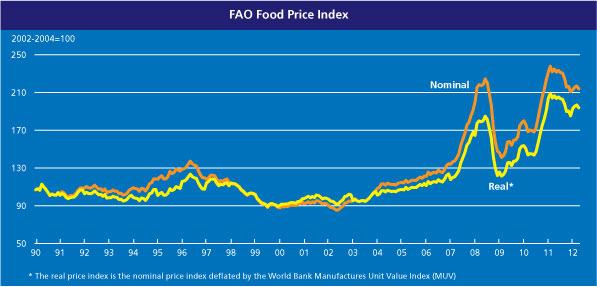 Food Price Index graph