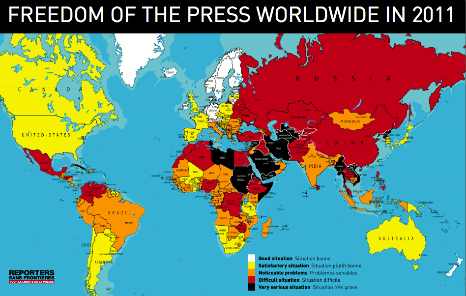 Freedom Of The Press 2011