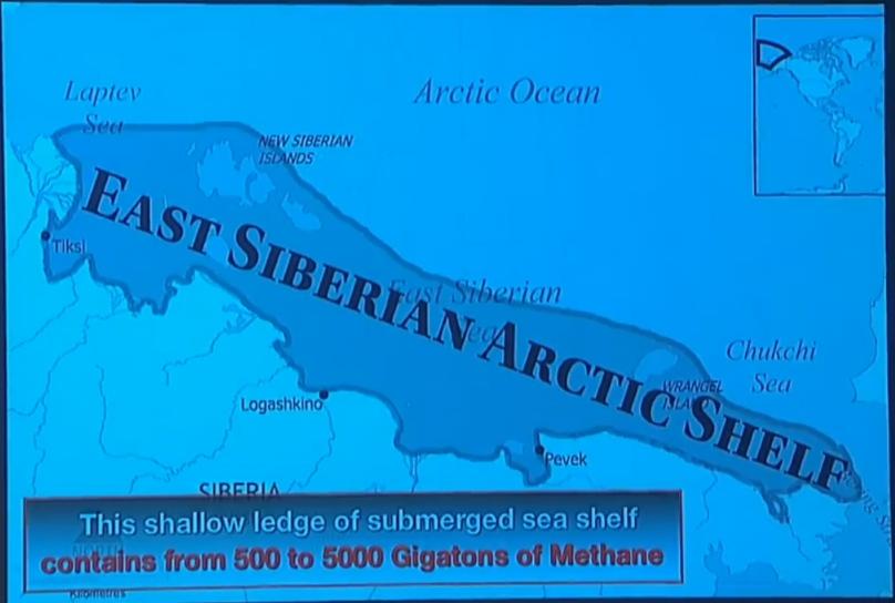 east siberia shelf